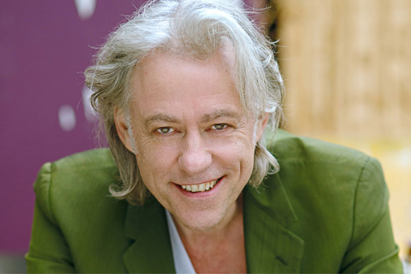 Mark McCarron talks to Bob Geldof