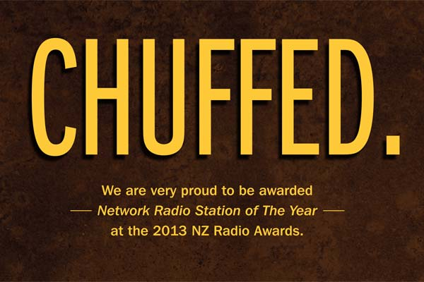 The Sound wins Network Radio Station of the Year!