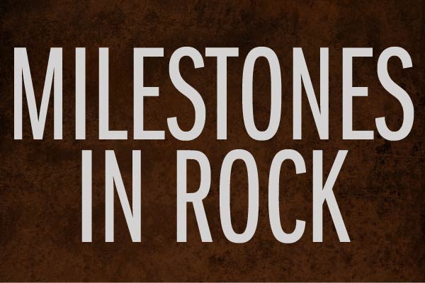 Milestones In Rock