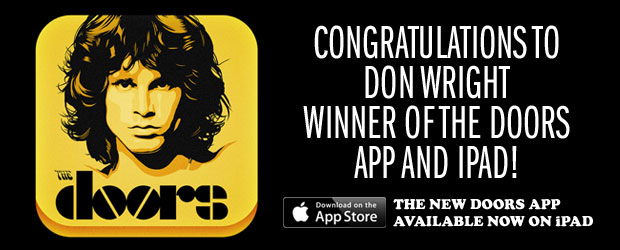 The Doors Launch Interactive iPad App! - The Doors are once again poised to break on through with a first-of-its-kind iPad app, THE DOORS, available exclusively ...