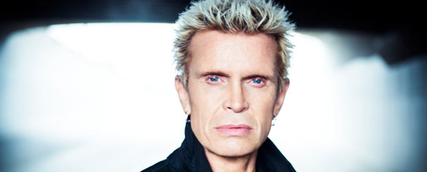 Win Billy Idol tickets - The Sound has a double pass (to the region of your choice) that could have your name on it. Just register your details t...