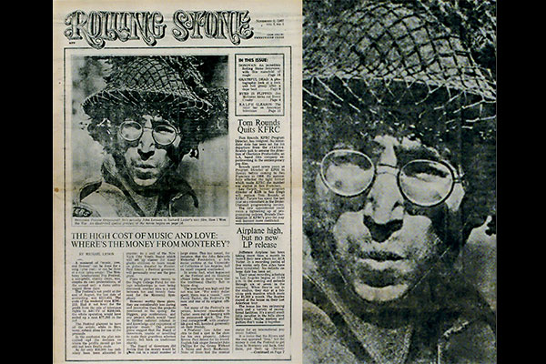 Today in history: The first issue of Rolling Stone was published with John Lennon on the cover