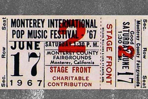 World's first Monterey Pop Festival kicked off today in 1967