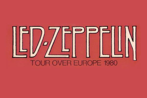 1980, Led Zeppelin kicked off their Tour Over Europe