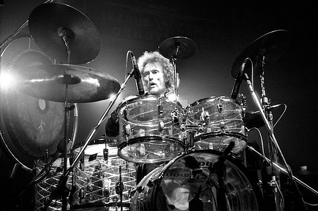 Legendary drummer Ginger Baker celebrates his 76th birthday