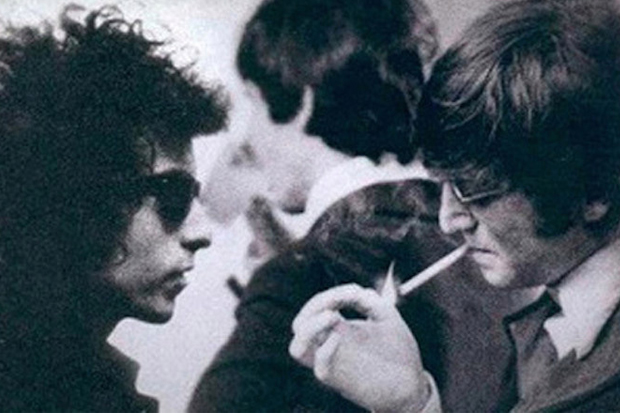 Video: The Beatles talk to Bob Dylan for first time