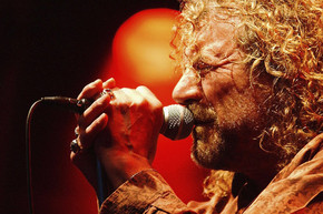 Robert Plant performs a unique take on 'Black Dog'