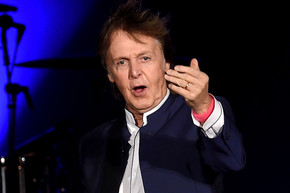 Paul McCartney plays intimate performance at a bar