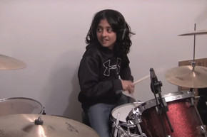 9-year-old does unbelievable drum cover of The Who's 'The Real Me'