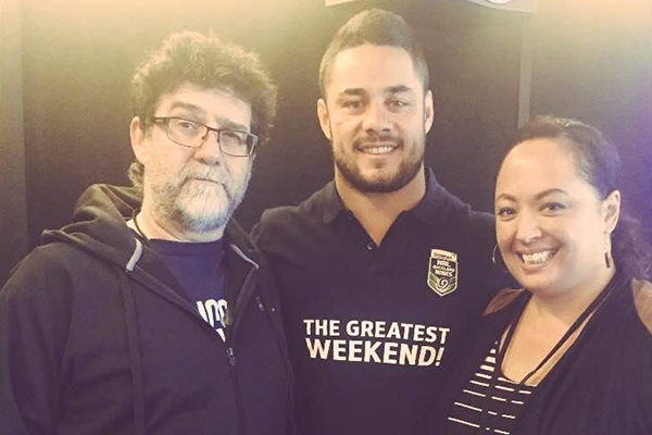 Jarryd Hayne catches up with The Morning Sound