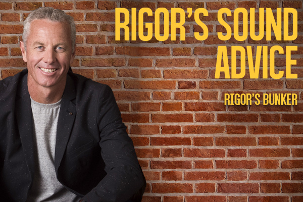 Rigor's Sound Advice 23rd November