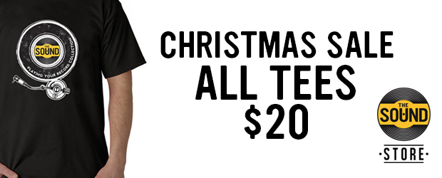 The Sound Store Christmas Sale - We are having a special Christmas sale - All tees are only $20!