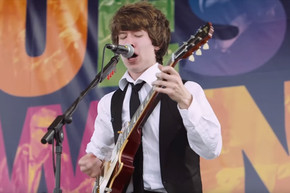 Young musician covers Rush's 'Spirit Of The Radio'