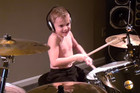 6-year-old drummer smashes his cover of 'Welcome to The Jungle'!