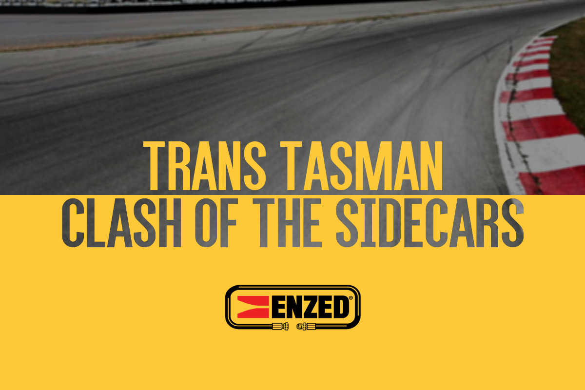 The Enzed hose doctors Trans-Tasman Sidecar Clash