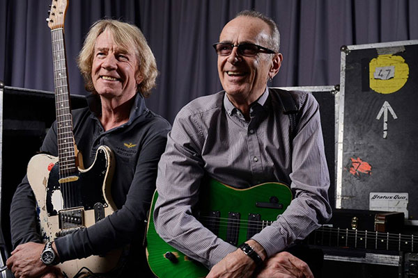 Status Quo singer and guitarist Francis Rossi pays tribute to Rick Parfitt