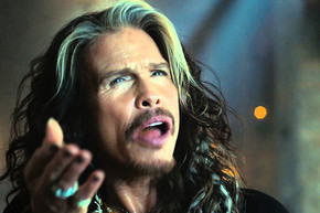 Steven Tyler appears in Super Bowl ad for Skittles