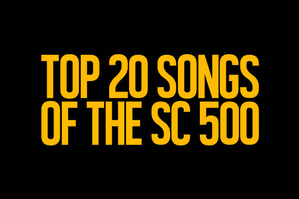 Top 20 songs of the Sound Check 500