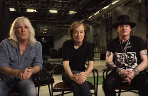 AC/DC posts video with Axl Rose