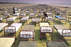 June 14, 1987: The cover for Pink Floyd's album 'A Momentary Lapse Of Reason' is shot