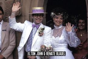 13 rockstar weddings