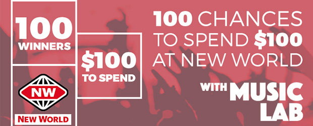 The Sound Musiclab - We're giving you 100 chances to win a $100 New World voucher. All you have to do is tell us the music you want to hear o...