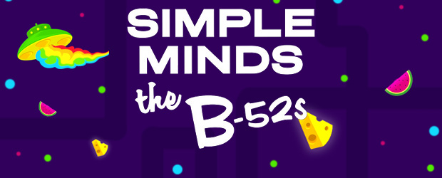 The Sound presents Simple Minds & The B-52's - The Majestic Simple Minds will team with the party vibes of B-52's to unite and play headline shows in New Zealand Febru...