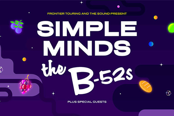 The Sound presents Simple Minds & The B-52's