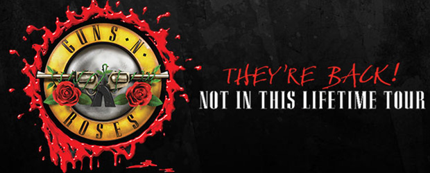 Guns N' Roses 'Not In This Lifetime' tour - The Sound is Proud to Support Guns N Roses Great Rock Tour Not In This Lifetime coming to New Zealand February 2017.