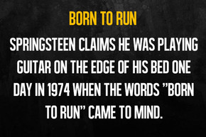 10 things to know about 'Born To Run' on its 41st anniversary