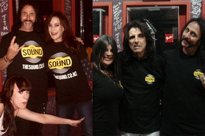 Sound listeners Brad & Debbie share their experience from meeting Alice Cooper