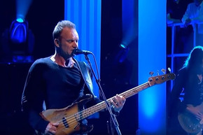 Sting's new song '50,000' was inspired by Bowie, Prince, Frey and more deaths