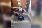 5 year old drummer Kiwi drummer rocks out