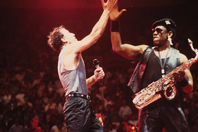 45 years ago: Bruce Springsteen and Clarence Clemons perform together for the first time
