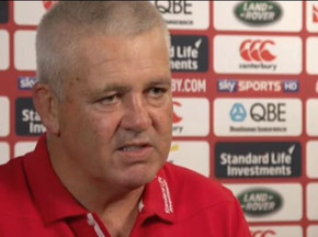 Video: Warren Gatland named as Lions coach for NZ tour