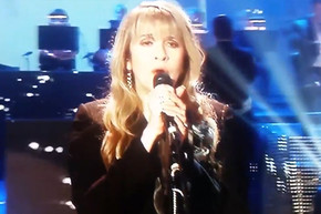 Stevie Nicks performs 'Landslide' with a small Orchestra