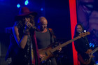 Steven Tyler, Sting and Jeff Beck team up to perform 'Sweet Emotion'
