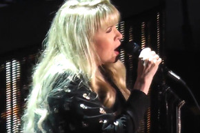 Stevie Nicks performs 'Stand Back' at the end of last year