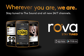Listen to the Sound on the new rova app